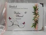 Gästebuch zur Hochzeit mit Fragen HGHF05