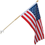 US. Outdoor Banner Flags (Nylon & Polyester)