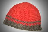 Mütze in Rot die wärmt