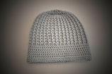 Mütze Hingucker in Graublau
