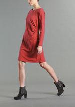 Kleid Coco GOTS von Lanius in Rubin oder Petrol