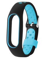 Hinterlüftetes Armband (bi-Silikon) - versch. Farben