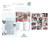 Calendario PAPA FRANCESCO mod PA102