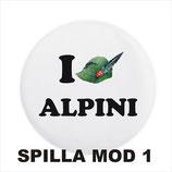 Spilla degli Alpini