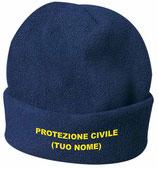 Cappellino in caldo pile PROTEZIONE CIVILE mod k18077