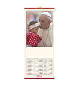 Calendario PAPA FRANCESCO in canna. mod PA385-478
