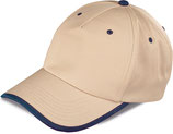 Cappellino bicolore MOD K18041