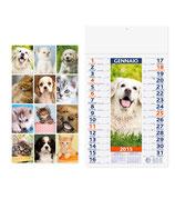 Calendari Cani e Gatti MOD pa074