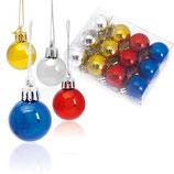 Palline Confezione di 12 palline per albero di Natale 3360