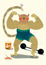 Poster Muskelkater