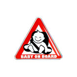 Baby on Board im Sitz, 3D Aufkleber
