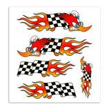 Aufkleber Set Woodpecker Zielflagge