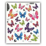 Aufkleber Set Schmetterlinge