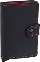Secrid Miniwallet Matte Black-Red