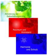Energiekarten 3er Set