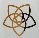 Aufkleber: Venusblume (7 cm)