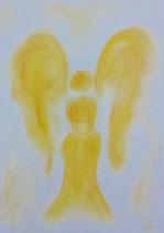 Engel der Lebensfreude (mit Glasrahmen)