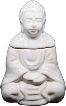 Brûleur à huile Bouddha assis