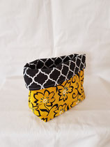 Pouch small yellow/black