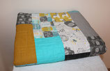 'Love You' Baby Quilt