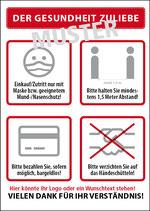 Plakate DIN A2- auch als wetterfestes Hohlkammer-Plaakt zu bestellen