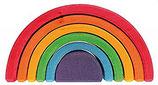 rainbow 6 pezzi medio