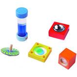 Piccolo kit per esperimenti ottici