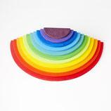 large semicircules rainbow