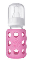 Life Factory (USA) Babyflasche pink 120ml