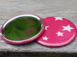 Taschenspiegel - pinky stars