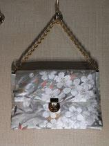 商品名 No.1440   手提げバッグ 引き箔 「春の宴」