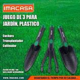 Set de Jardineria IMACASA