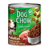 Dog Chow Trozos Carne 374 Grs.