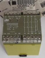 Schaltgerät Not-Aus 24V/GS PNOZ1