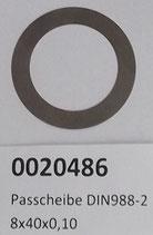 Passscheibe DIN988 - 28x40x0,10 mm
