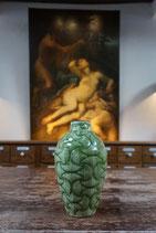 Ceramik Vase mit Muster