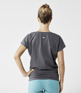 Organic Yoga Shirt Graphitgrau