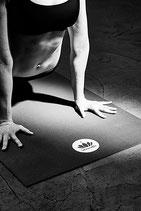 "Yogamatte ""Mudra"" Studio XL Zen-Schwarz"