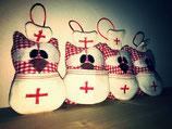 Schlüssel-Eule Krankenschwester