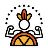 Körperenergie: Orange