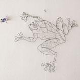 Drahtobjekt Frosch