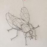 Drahtobjekt Fliege