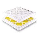 Filterzelle mit Papprahmen EU 5 480x480x24