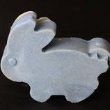 Angorakeratinseife in Kaninchenform