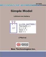 リチウムイオン電池モデル