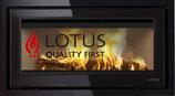 Lotus Kamineinsatz H470W Black Magic