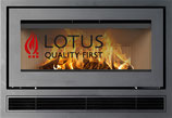 Lotus Kamineinsatz H470W Air mit Ventilator