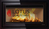 Lotus Kamineinsatz H570W Black Magic