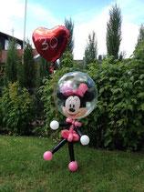 Minni Maus aus Luftballons