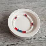 Armband blau-rot-weiß